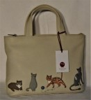 Yoshi by Litchfield Cats Whiskers grab handbag