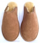 Unisex Sheepskin Mules with a hard sole