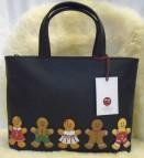 Yoshi Gingerbread Gang grab handbag