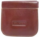 Leather Snap Top Coin Pouch