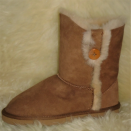 Lacey Ladies Outdoor Short Sheepskin Boots