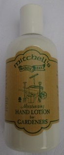 Mitchells hand lotion for gardeners