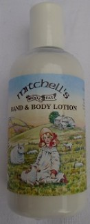 Mitchells hand and body lotion country scene