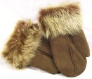 Ladies Split Seam Mittens with Toscana wool cuff