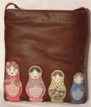 Yoshi by Litchfield Russian Dolls cross body bag