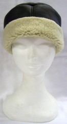 Sky Sheepskin Hat