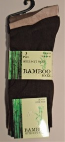 Gents bamboo socks