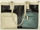 Amy Black Multi Faux Leather Handbag