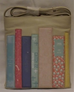 Bookworm cross body bag.