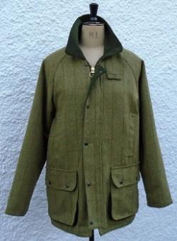 Gents tweed coat.Sage
