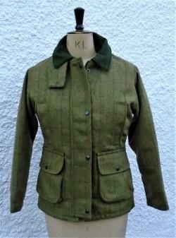 Ladies tweed jacket, sage