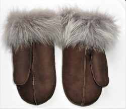 Brown Toscana Mitts