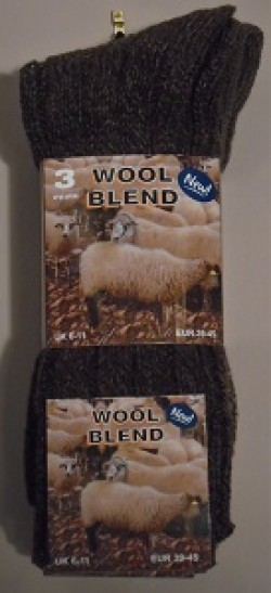 Gents wool blend socks