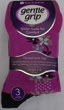 Ladies flower socks
