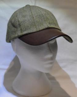 Unisex Tweed cap, sage