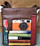 Yoshi by Litchfield Travel bookworm Over Body Leather  Bag
