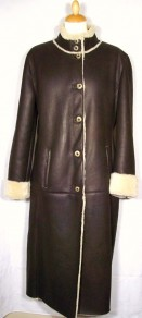 Darcey Ladies Sheepskin Coat