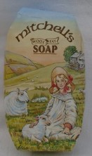 Mitchells Wool Fat Soap Country Scene
