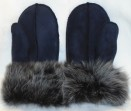 Ladies Sheepskin Mittens with Toscana sheepskin cuff