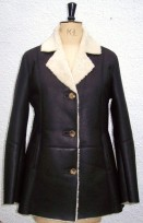 Poppy Ladies Sheepskin Coat