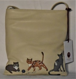 Cats Whiskers cross body bag