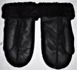 Ladies Mitts black